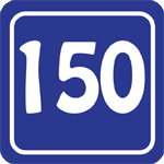 150 Mile Badge