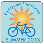 Cyclopedia East Harlem Summer 2013 Badge