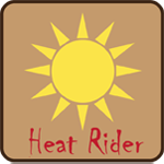 Heat Rider Badge