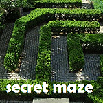 Secret Maze Badge
